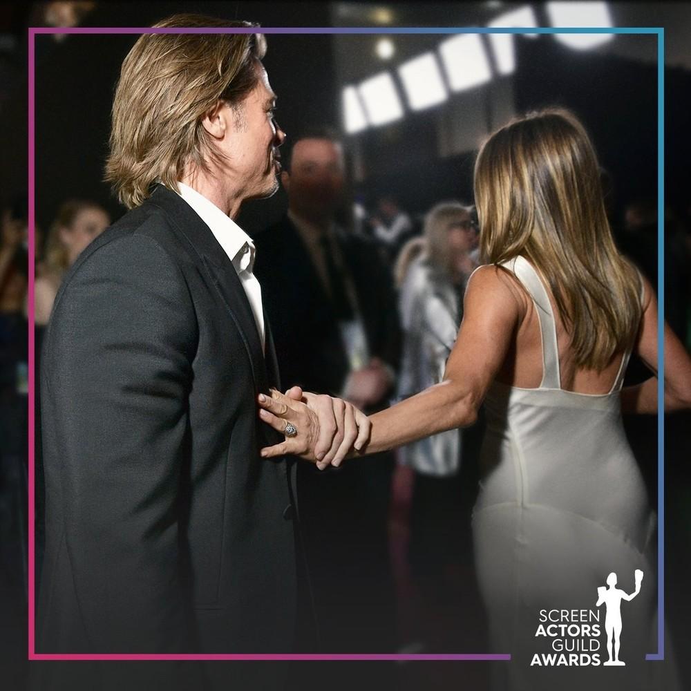 Bradd Pitt y Jennifer Aniston, juntos de nuevo