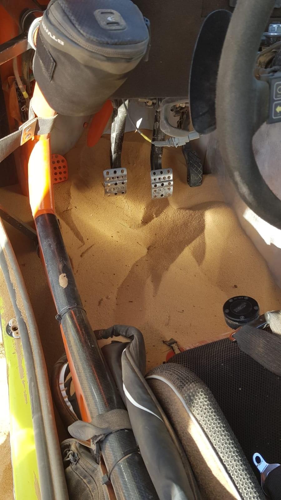 El Promyges Rally Team de Carranza dice adiós al Dakar
