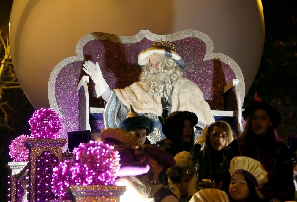 La Cabalgata de Reyes recorre Valladolid llena de ilusión