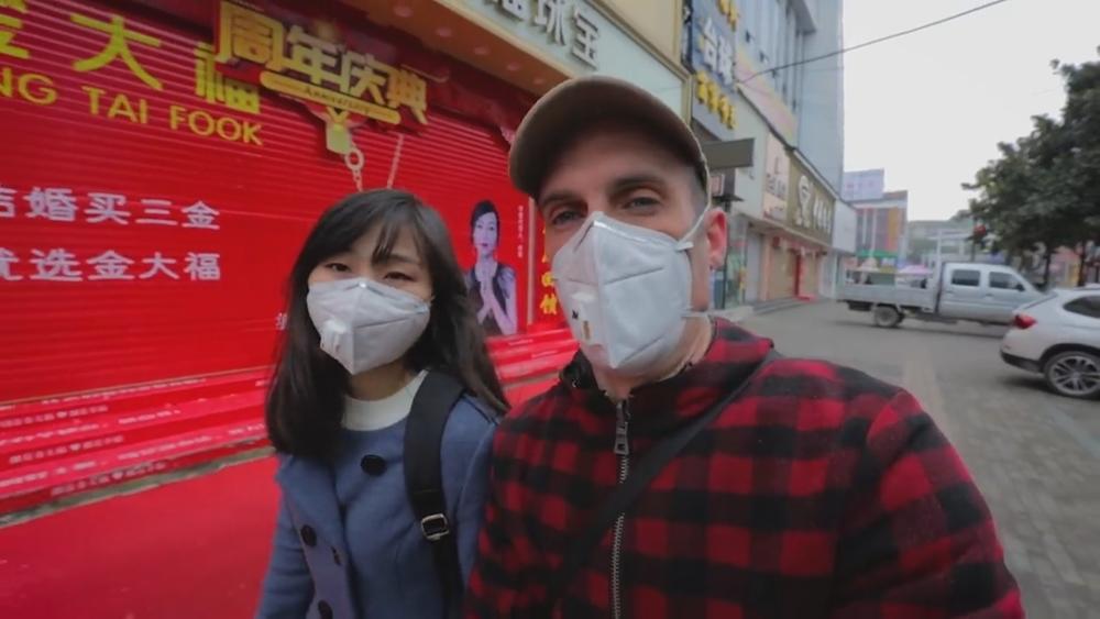 Un navarro en Wuhan: así vive el coronavirus