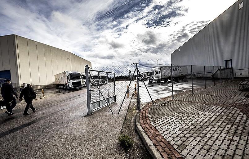 La empresa ampliará su recinto en el lateral derecho del párking de la Aduana.