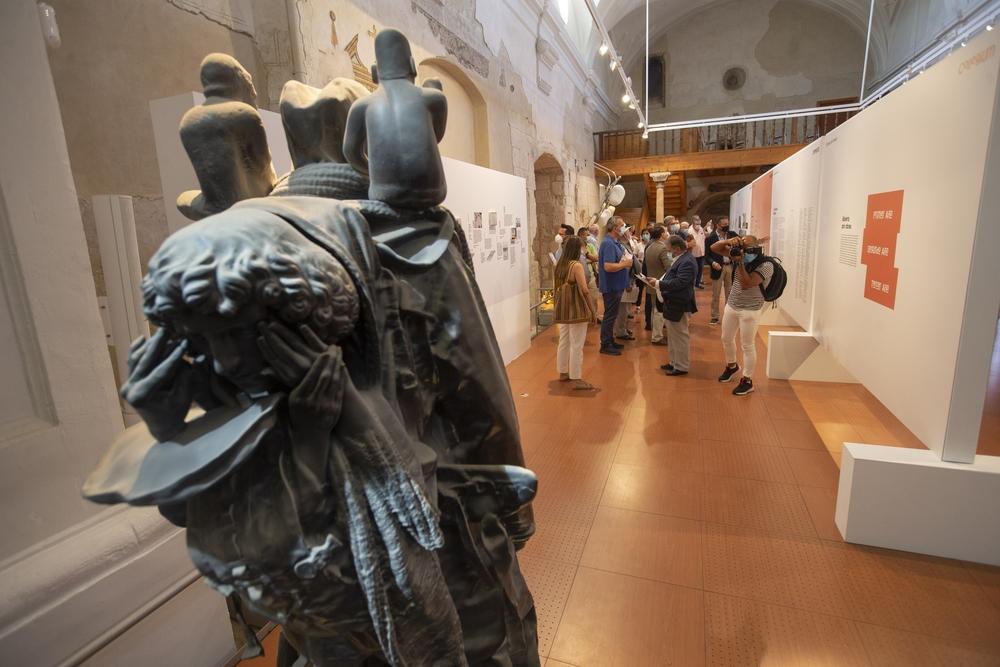 Arévalo presenta 'Collegium', que aspira a convertirse en el 'Guggengheim' de Castilla y León. El proyecto, una plataforma de producción, investigación y exposición del arte contemporáneo, ha sido presentado por su promotor, el arevalense Javier Lum