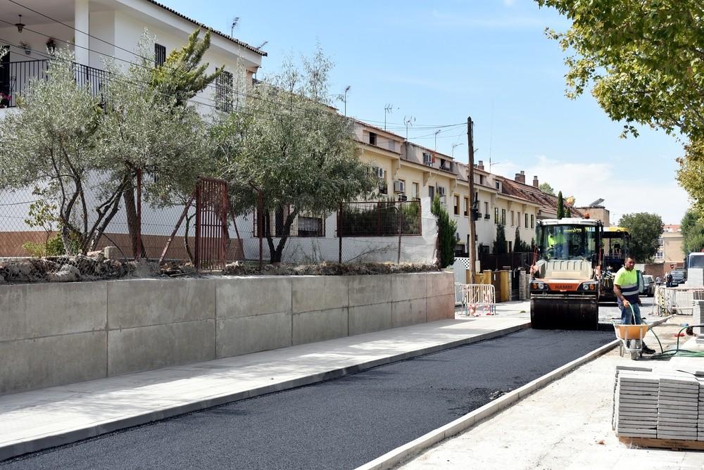 Las obras en la carretera de Piedrabuena llegan a su fin