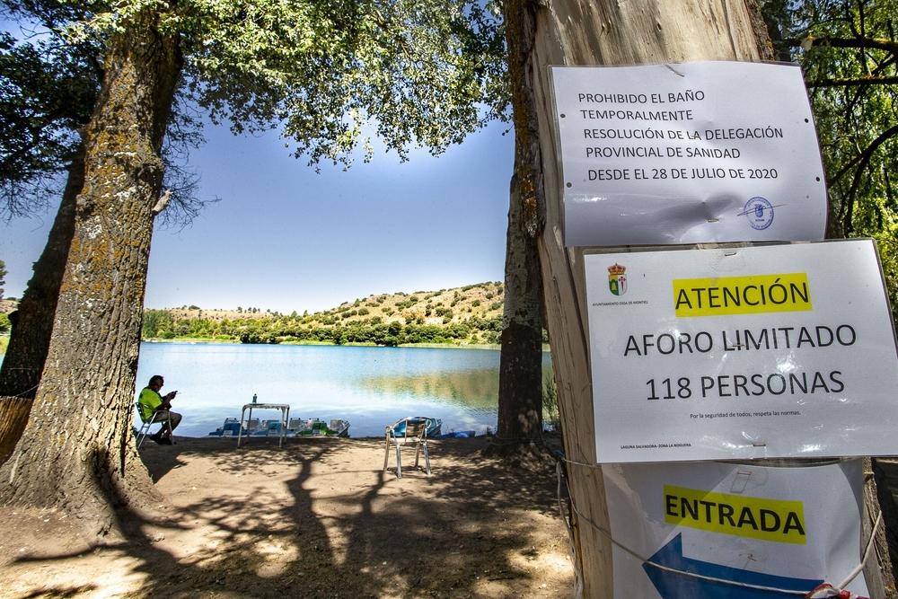 Las Lagunas registran un descenso notable de visitantes