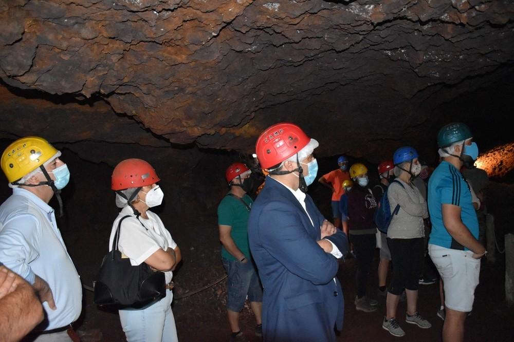 La Diputación acondiciona la mina romana de Cueva del Hierro