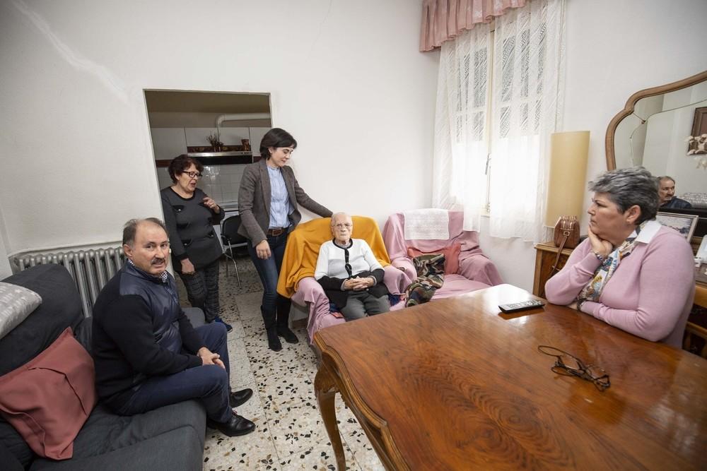 Serviliana, en su casa de Sebúlcor.