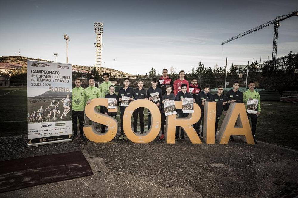 Tres clubes y cinco equipos sorianos para el Campo a Través