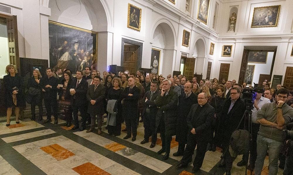 Los asistentes, muy atentos a las palabras de José María Cano.