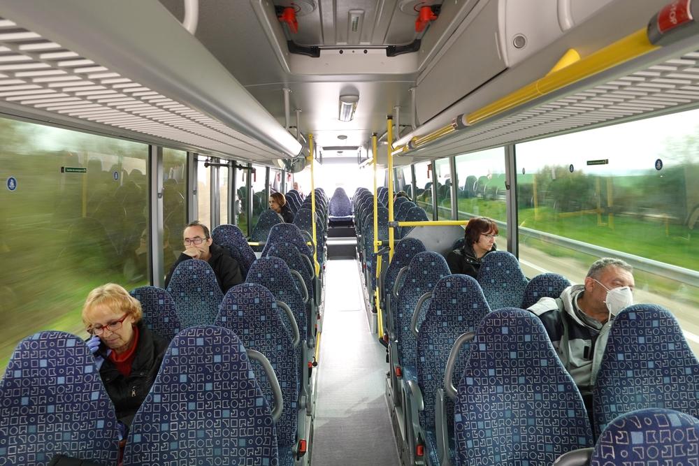 Autobús de línea desde Valladolid a Tudela de Duero