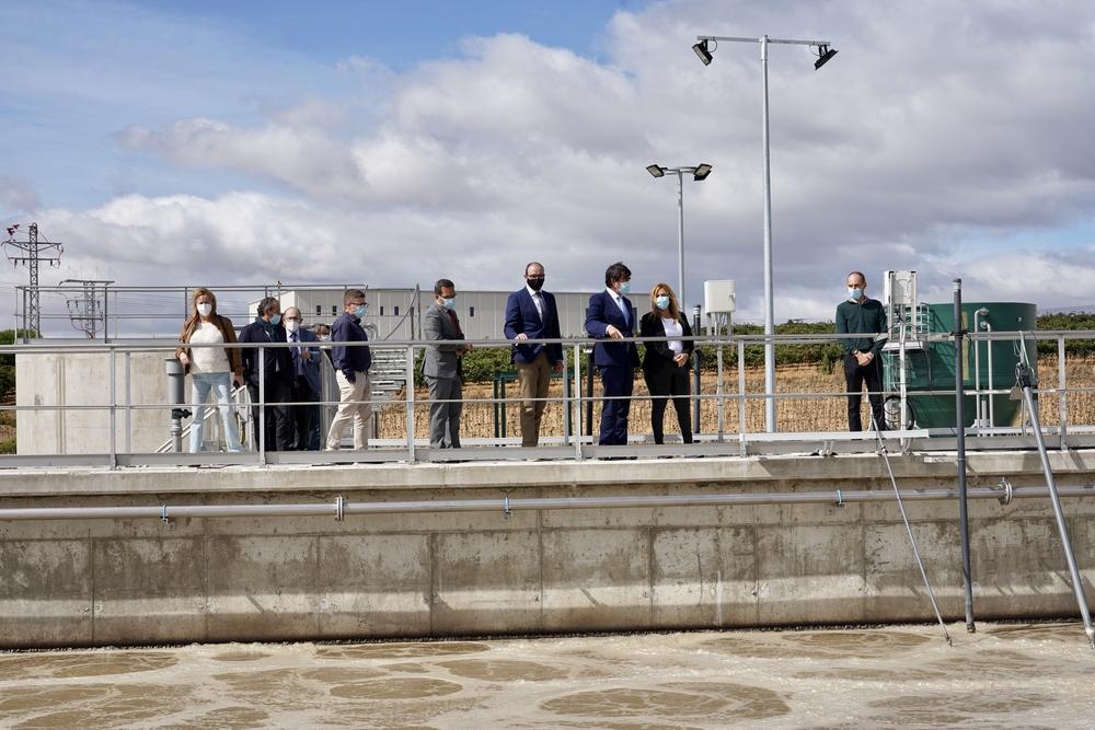 Estación depuradora de aguas residuales de Rueda