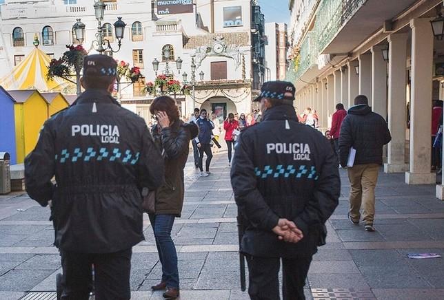 Agentes de Policía Local, en una imagen de archivo