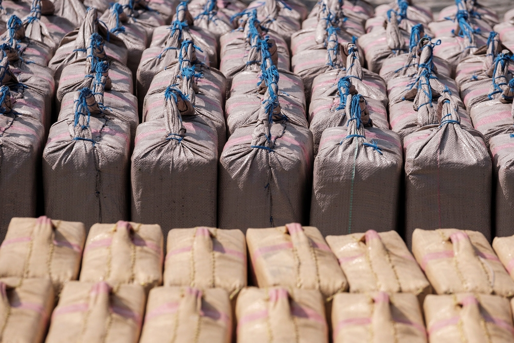 La mayor operación contra el tráfico de hachÁs por vÁa marÁtima permite incautar 35 toneladas de droga