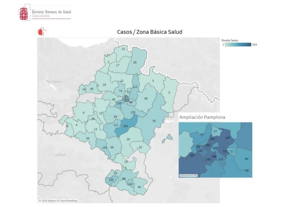 Datos por Zonas Básicas