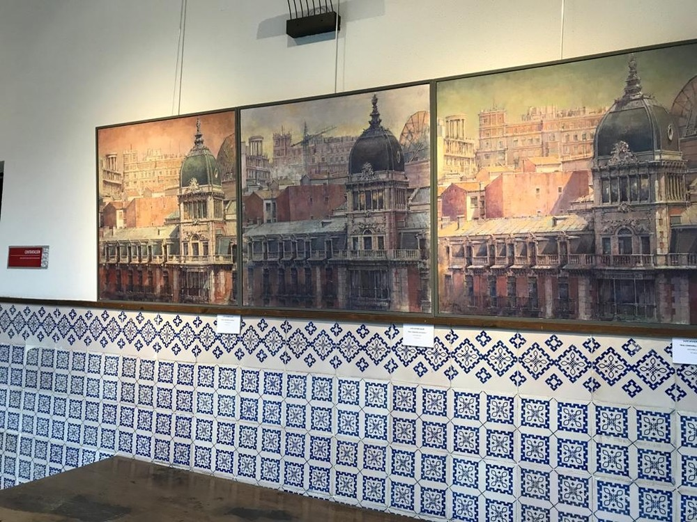 El Grupo Spiral XIII expone 37 de sus obras en Los Guzmanes