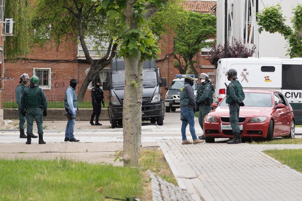Operación contra la banda del BMW.