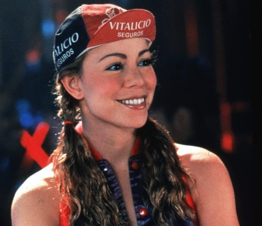 La cantante norteamericana Mariah Carey en una escena de la película 'Glitter'