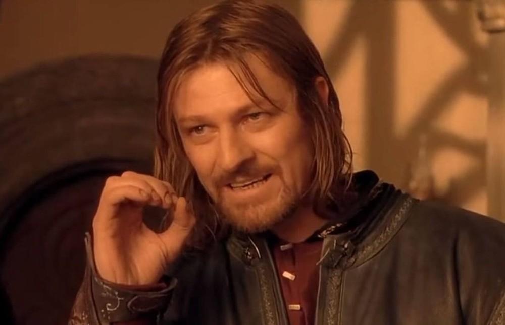 Àsí nació el meme de Boromir en 'El Señor de los Anillos'