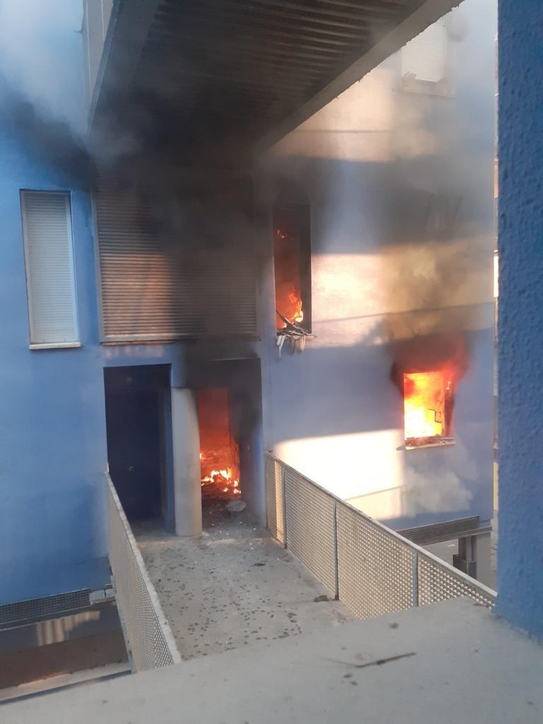 En libertad el detenido tras un incendio en 'El Parchís'