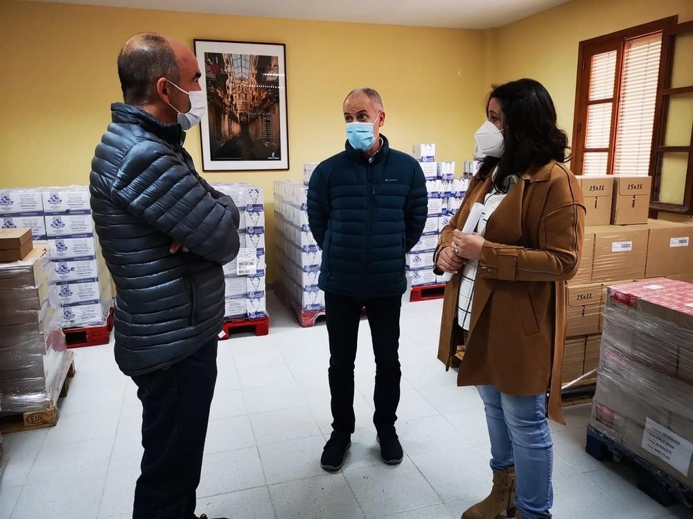 Llegan a Villarrobledo más de 6.000 kilos de alimentos