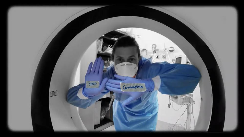 (VÍDEO) Homenaje al servicio de rayos del Hospital General