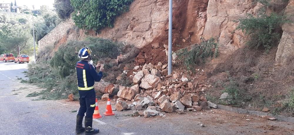 Nuevo desprendimiento de rocas en 48 horas en Toledo
