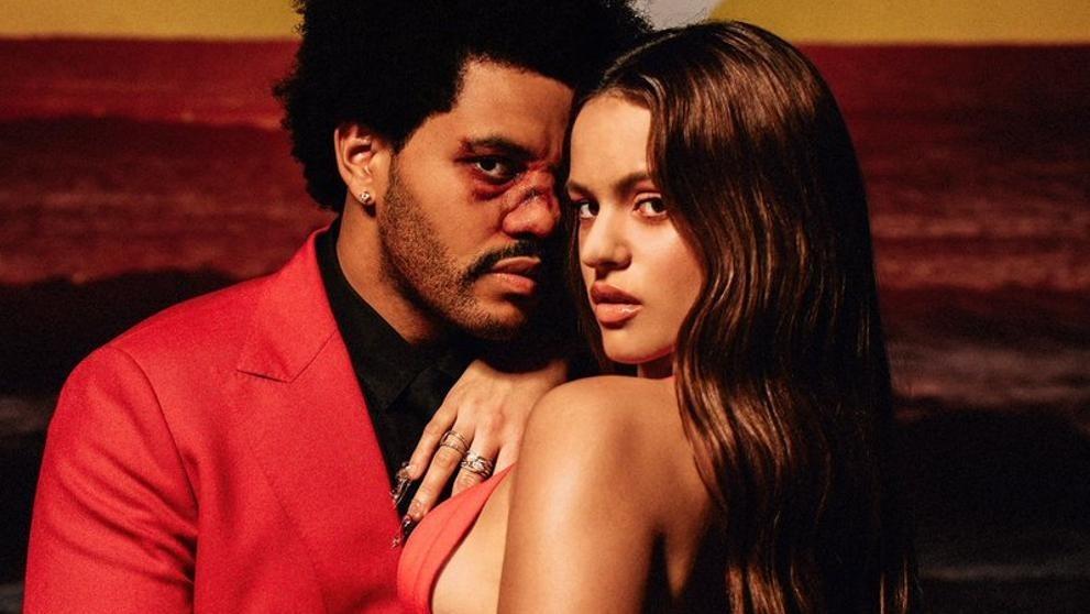 Rosalía y The Weeknd lanzan un remix de 'Blinding lights'
