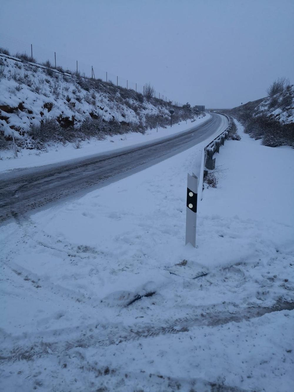 Ágreda se lleva la peor parte de la nevada