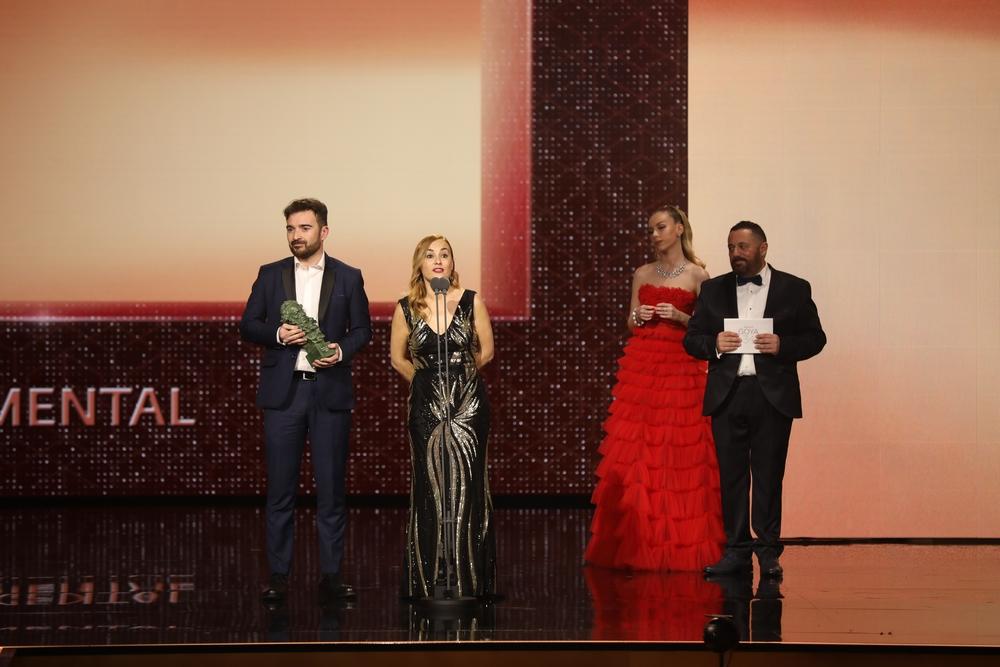 Mejor cortometraje documental es para Nuestra vida como niños refugiados en Europa en la a XXXIV edición de los Premios Goya, en Málaga (AndalucÁa, España), a 25 de enero de 2020.