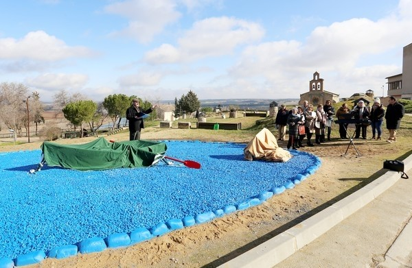 Castronuño inaugura un monumento a los antiguos pescadores