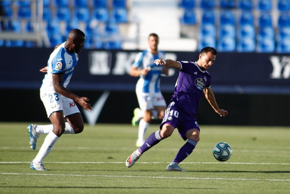 El Valladolid se impulsa a costa de un Leganés en problemas