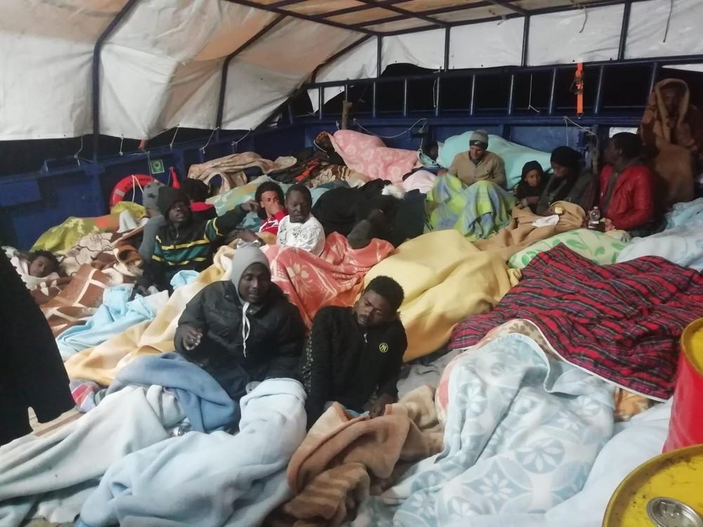 Ayuda humanitaria en primera persona