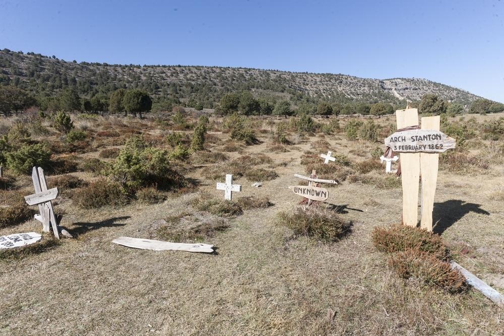 El cementerio de Sad Hill, en Contreras.