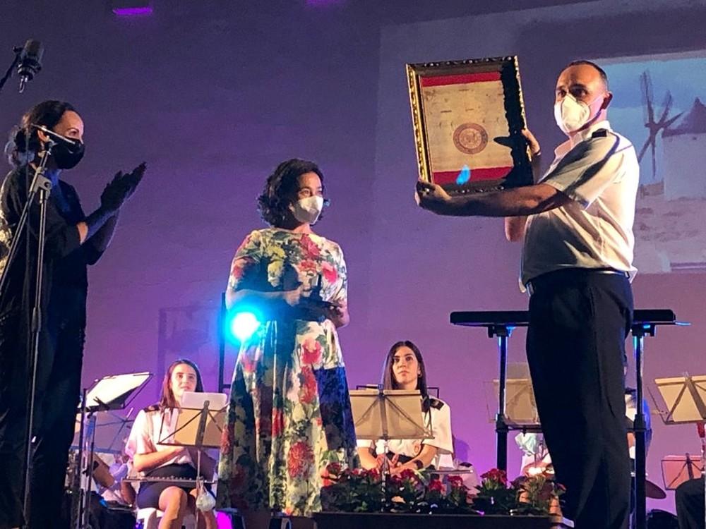La Agrupación Musical homenajea a las víctimas
