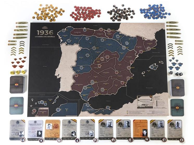 Docentes de la UBU crean un juego de mesa de la Guerra Civil
