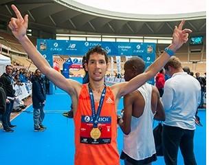 Javi Guerra, tras lograr el campeonato en 2018