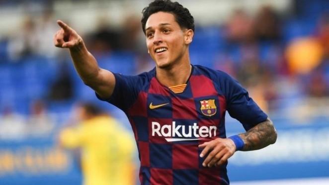 Kike Saverio recala en Tajonar procedente del filial del F. C. Barcelona