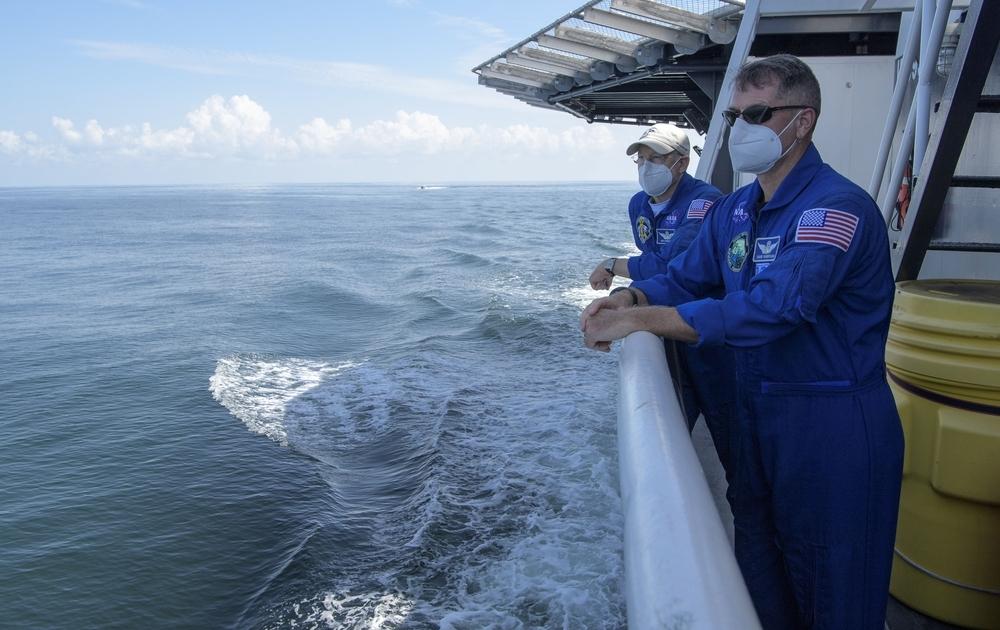 La tripulación de SpaceX regresa tras una misión histórica