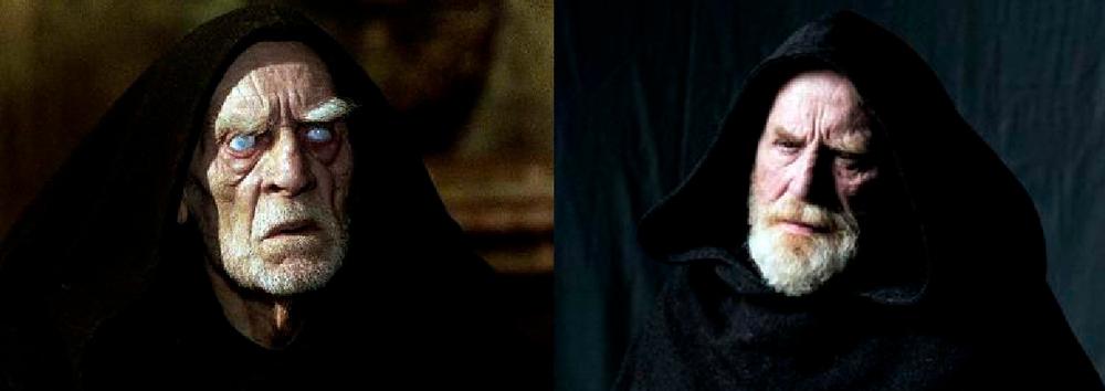 Dos actores han dado vida a Jorge de Burgos en la ficción. En la inolvidable película dirigida por Annaud, fue el actor de origen ruso Feodor Chaliapin Jr. quien bordó el papel. En la serie es James Cosmo.