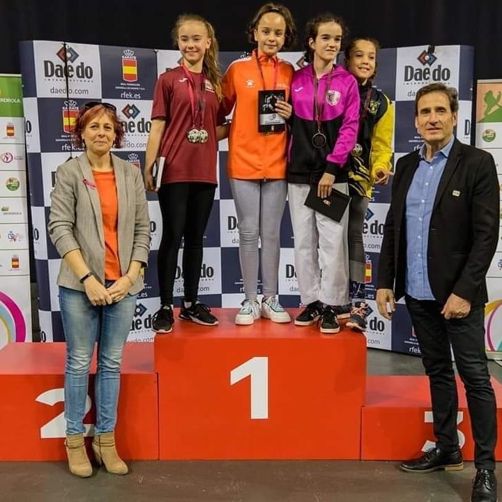 El Kidokan se cuelga nueve medallas en Pamplona