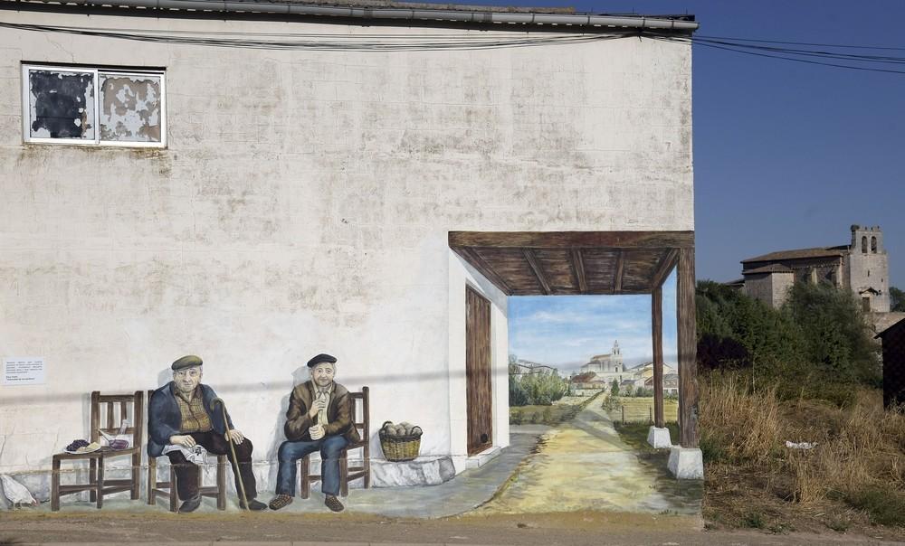 El arte y la literatura se citan en la 'Ruta de los Murales'