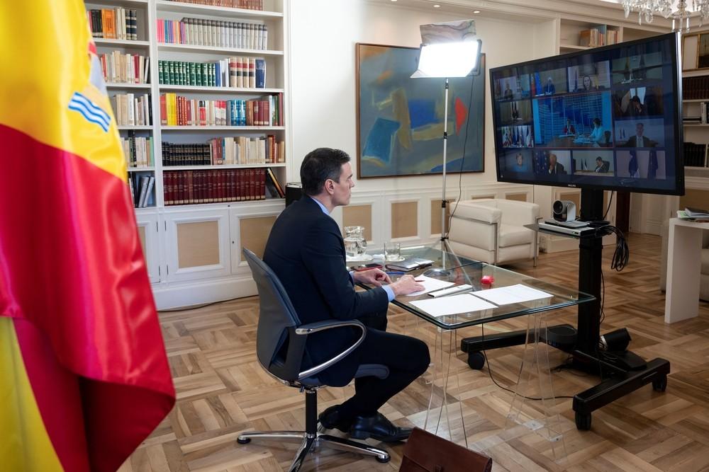 Pedro Sánchez también ha asistido a la reunión.