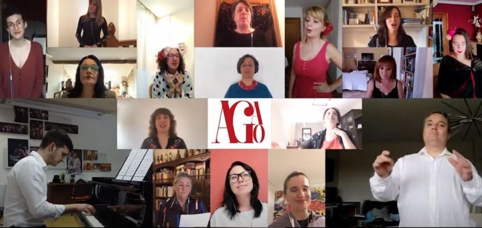 'Abrazos virtuales de AGAO': homenaje a todos los afectados
