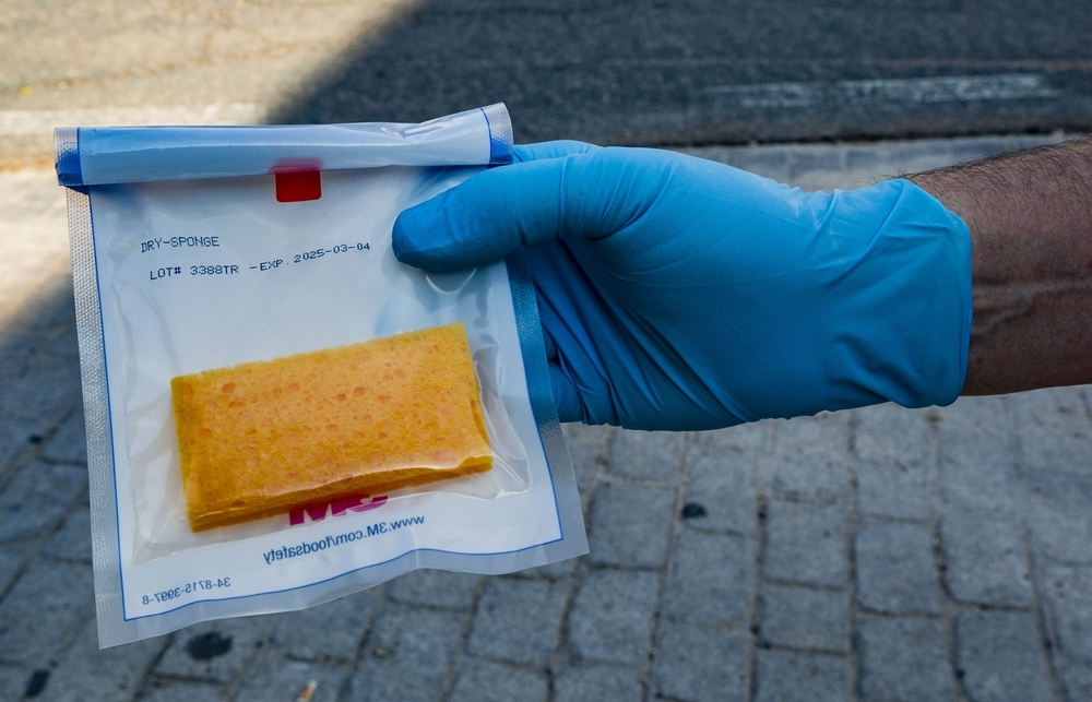 Una esponja e ingenio para detectar el coronavirus
