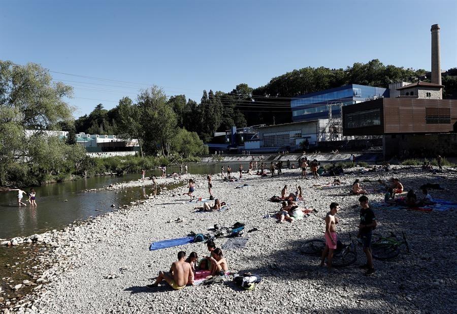 Los ríos navarros, ayuda frente a las altas temperaturas