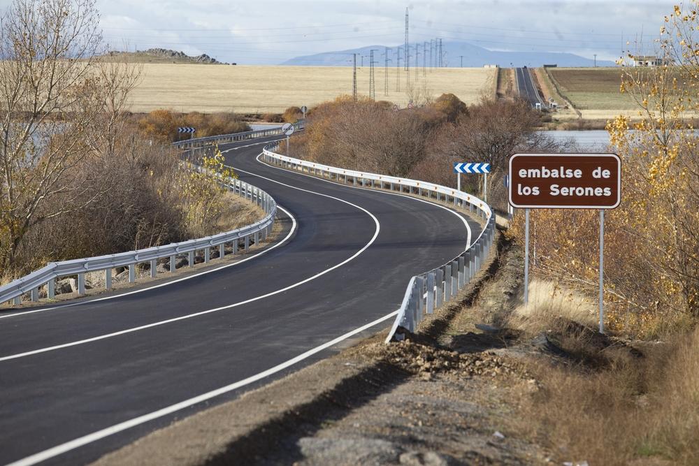 Apertura al tráfico de la AV- 500 tras las obras.