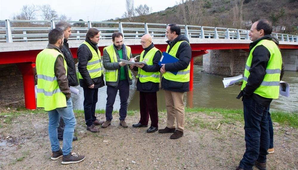 Un nuevo puente para llegar más fácil a Eguíllor y Beasoain