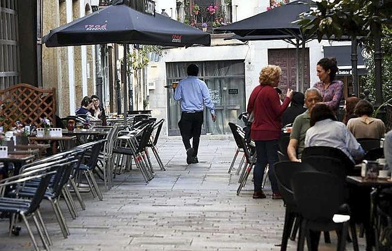 En la Ciudad Vieja de La Coruña se encuentra A Terraza.