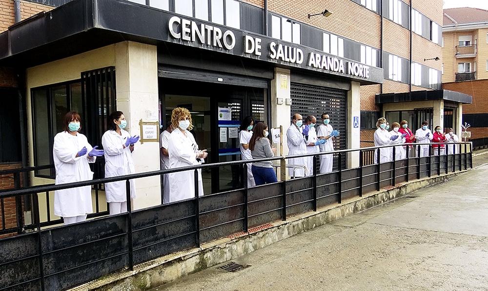 Centro de salud Aranda Norte.