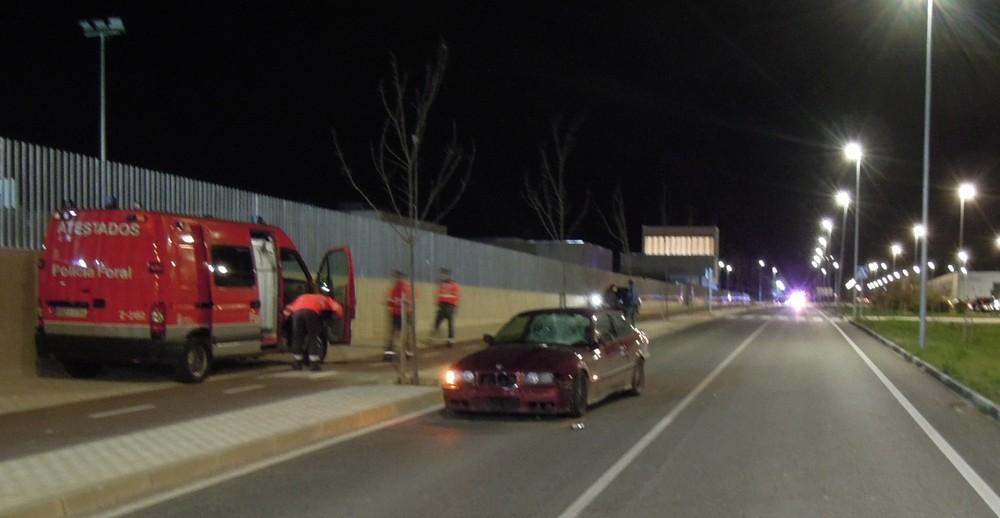 Herido grave un joven de 16 años atropellado en Sarriguren