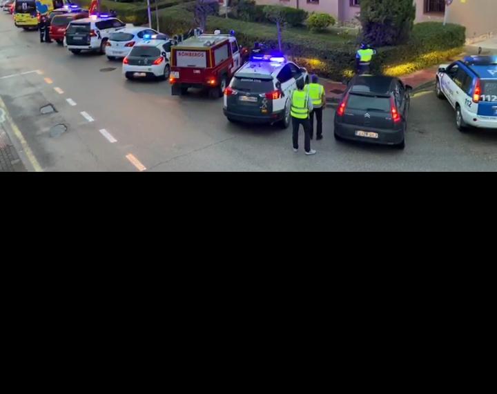 #VIDEO Viernes de luto en Almazán por las víctimas del Covid